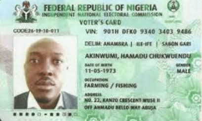 What I Would Have Done With My Voter's Card – Aijay Ufomadu