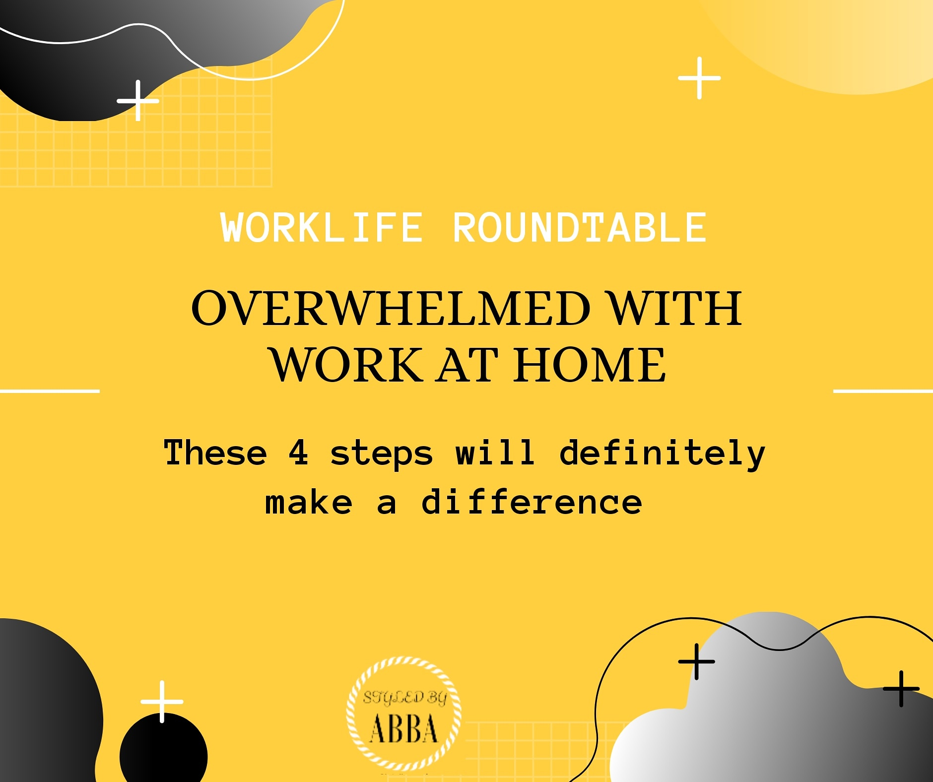 4 Steps to Conquering Overwhelm